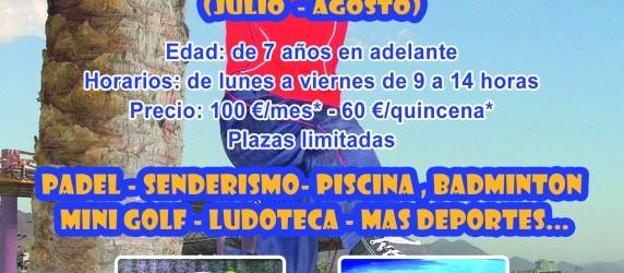 "Campamento de Verano Multideporte ""La Reja Padel"""