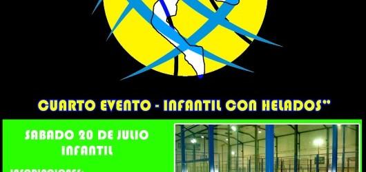 "Próximo torneo express ""Infantil con Helados"""