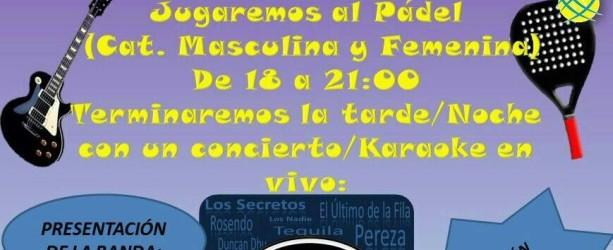 I Encuentro Padel y Rock