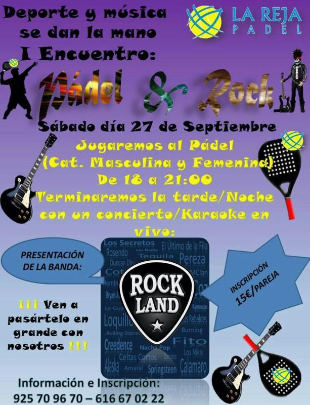 Padel y Rock