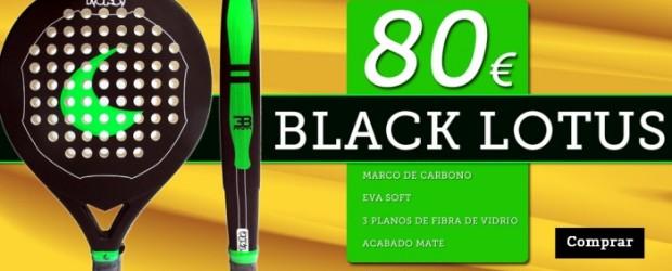 """Pala Toro Padel """"Black Lotus""""- 80 eur."""