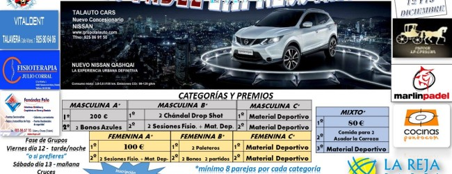 """Torneo de padel """"Express Navidad 2014″"""